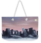 Dusk On The Winter Solstice At Stonehenge 1877 Weekender Tote Bag