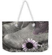 Dusky Megaboots Weekender Tote Bag by Joan Carroll