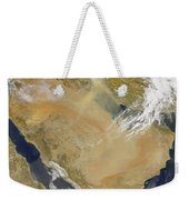 Dust And Smoke Over Iraq And The Middle Weekender Tote Bag