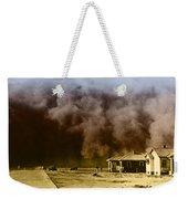 Dust Storm, 1930s Weekender Tote Bag