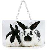 Dutch Rabbits Weekender Tote Bag