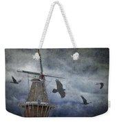Dutch Windmill With Ravens Weekender Tote Bag