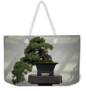 Dwarf Japanese Garden Juniper Weekender Tote Bag