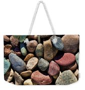 Dyed Stones Weekender Tote Bag