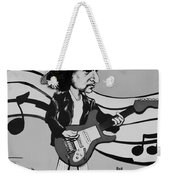 Dylan In Black And White Weekender Tote Bag