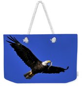 Eagle Fish In Mouth Weekender Tote Bag