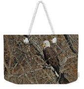 Eagle In Tree 3 Weekender Tote Bag