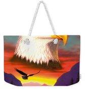 Eagle Weekender Tote Bag by MGL Studio - Chris Hiett