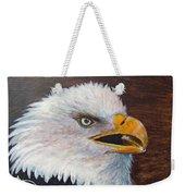 Eagle Study Weekender Tote Bag
