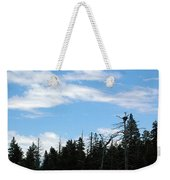 Eagles Nest Lake Tahoe Weekender Tote Bag