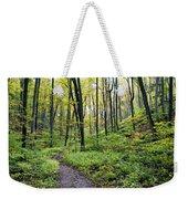 Early Autumn Hike Weekender Tote Bag