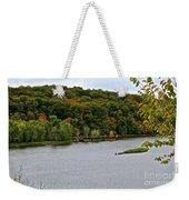 Early Autumn Shoreline Weekender Tote Bag