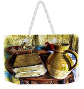 Early Colonial Still Life Weekender Tote Bag