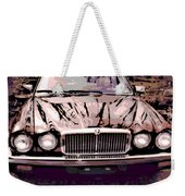 Early Jaguar Xj6 Weekender Tote Bag