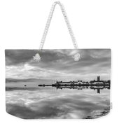 Early Morning At Inverary Black And White Version Weekender Tote Bag