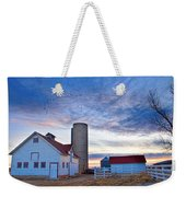 Early Morning On The Farm Weekender Tote Bag