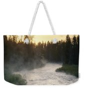 Early Morning View Of Crescent Creek Weekender Tote Bag