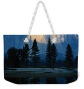 Early Morning View Of El Capitan Weekender Tote Bag