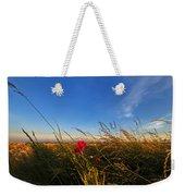 Early Poppies Weekender Tote Bag