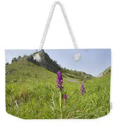 Early Purple Orchids Weekender Tote Bag