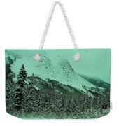 Early Snow In The Mountains  Weekender Tote Bag