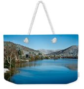 Early Snow In Vermont Weekender Tote Bag by Edward Fielding