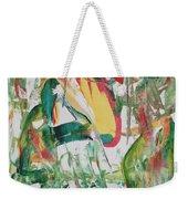 Earth Crisis Weekender Tote Bag by Ikahl Beckford
