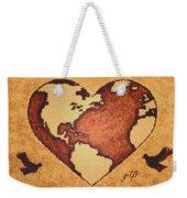 Earth Day Gaia Celebration Digital Art Weekender Tote Bag
