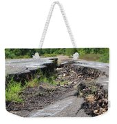 Earth Opening Road Closing Weekender Tote Bag