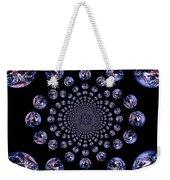 Earth Pattern Weekender Tote Bag