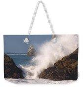 Earth Vs. Water Weekender Tote Bag
