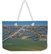 East Coast Aerial Weekender Tote Bag