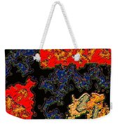 East Meets West Weekender Tote Bag
