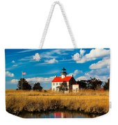 East Point Lighthouse Reflection Weekender Tote Bag