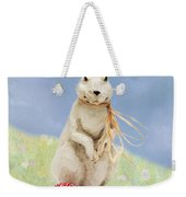 Easter Bunny With A Painted Egg Weekender Tote Bag