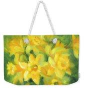Easter Daffodils Weekender Tote Bag