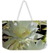 Easter Lily Cactus Bouquet Weekender Tote Bag