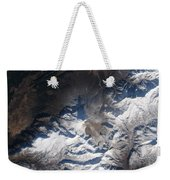 Eastern Russias Kizimen Volcano Weekender Tote Bag
