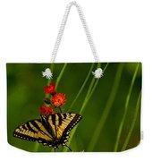 Eastern Tiger Swallowtail Weekender Tote Bag