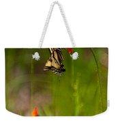 Eastern Tiger Swallowtail Profile Shot Weekender Tote Bag