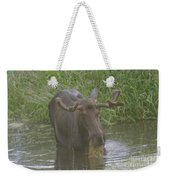 Eating With His Mouth Full Weekender Tote Bag