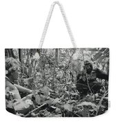Ebobo, A Male Gorilla, Waits Weekender Tote Bag