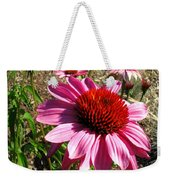 Echinacea In Water Weekender Tote Bag