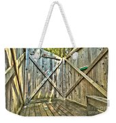 Eco Shower Weekender Tote Bag