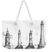 Eddystone Lighthouse Weekender Tote Bag