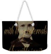 Edgar Allan Poe 2 Weekender Tote Bag