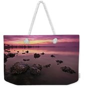 Edge Of A New Day Weekender Tote Bag