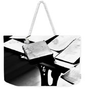 Education Station Weekender Tote Bag by Empty Wall