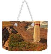 Edwardian Lady By The Sea Weekender Tote Bag