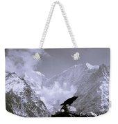 Eerie Himalayas Weekender Tote Bag
